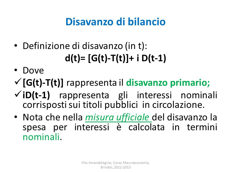 d(t)= [G(t)-T(t)]+ i D(t-1)